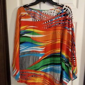 Cato multicolored blouse